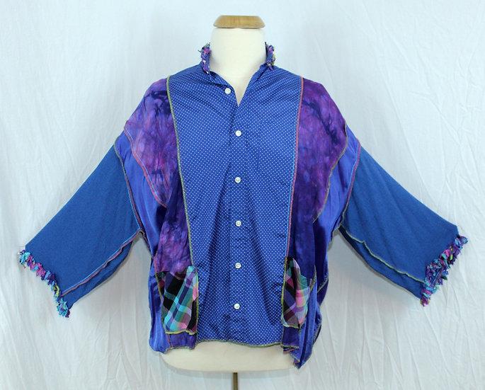Meg Staley Big Fringey Shirt (431.2F)