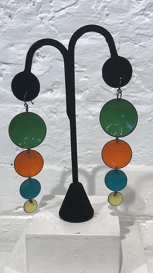 MFN - 4 Drop Cascade - Green/Orange/Turq/Yellow