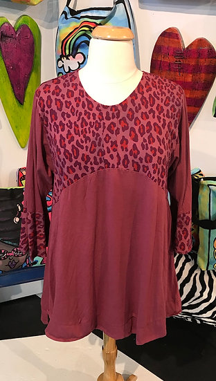 CEC016WF - Wild Woman Dress Tunic - Dusk