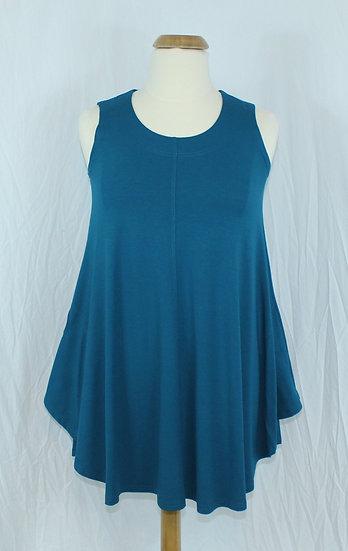 Polly Tunic/Dress-Sea Blue #93012 - M