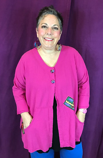 75 - Barely There Cardi - Pink