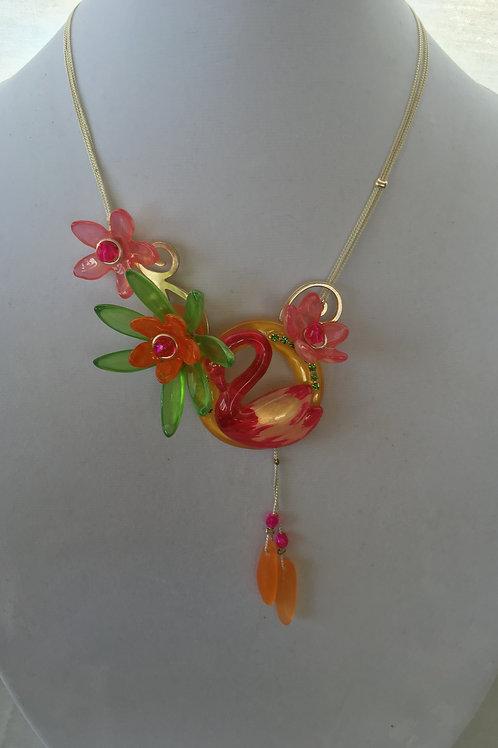 Flamingo Necklace - P4508/1