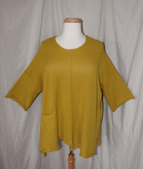 Cheyenne Sweater in Mustard - #SW0192