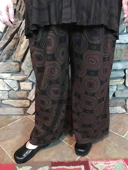 Peculiar Pant - Sz 3 - Doormouse Brown Bullseye