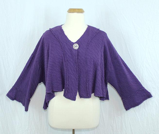 Street Style Jacket in Purple