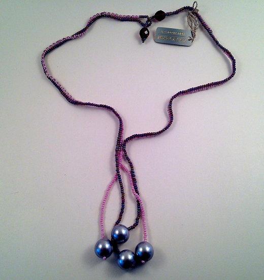 Lariat Style Necklace & Bracelet Combination