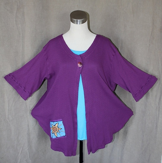 Just Jacket! - Poppin' Purple in Large