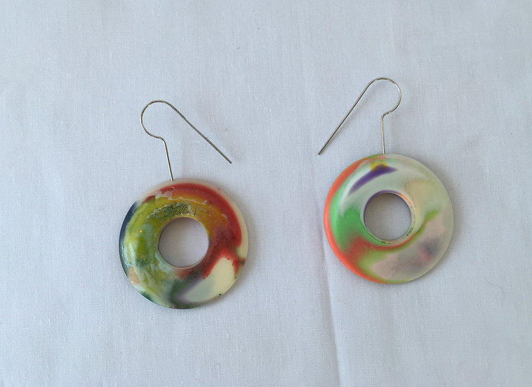 Colorful Artisian Earrings