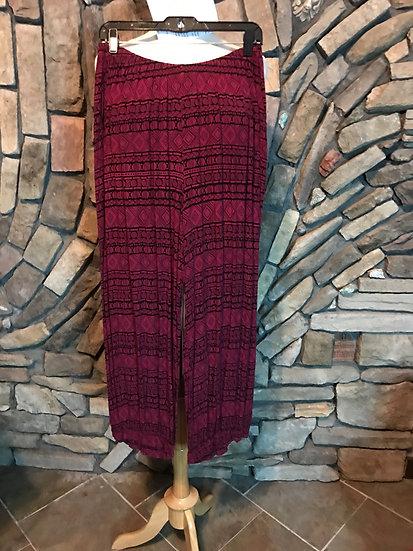 Tribal Harem Pant - Sz 3 - Pink (#55)