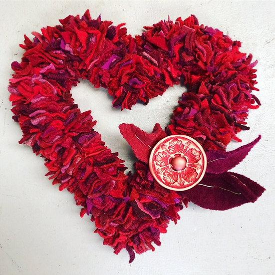 Button Florist - Handmade Heart 2
