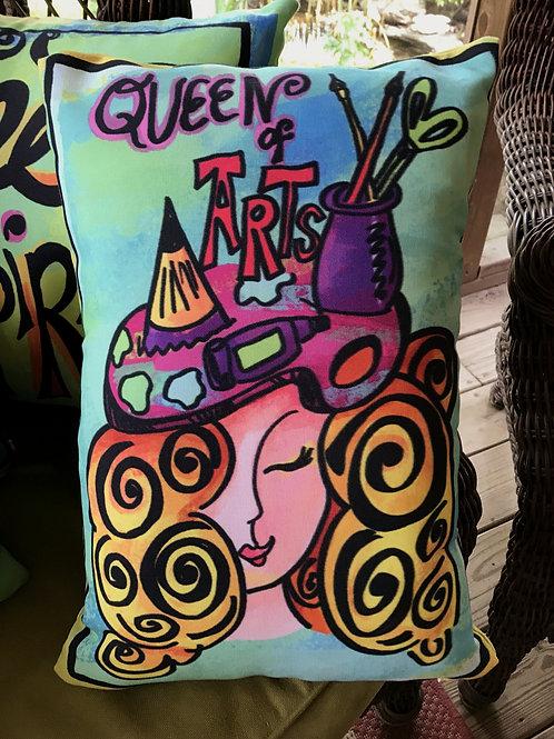 Pillow - Queen of Arts - Blonde