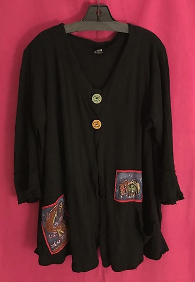 50 - Barely There Cardi - Black