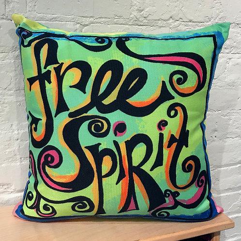Pillow - Free Spirit - Lime