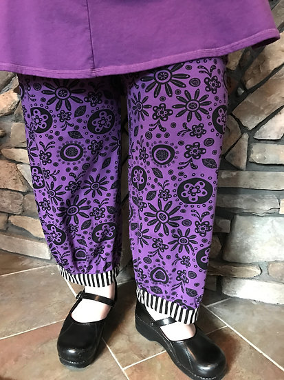 Alice  Party Pant - Sz 1 - Purple