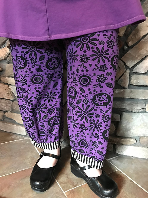 Alice  Party Pant - Sz 1 - Purple