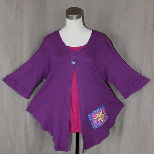 Just Jacket! - Poppin' Purple in  XLarge