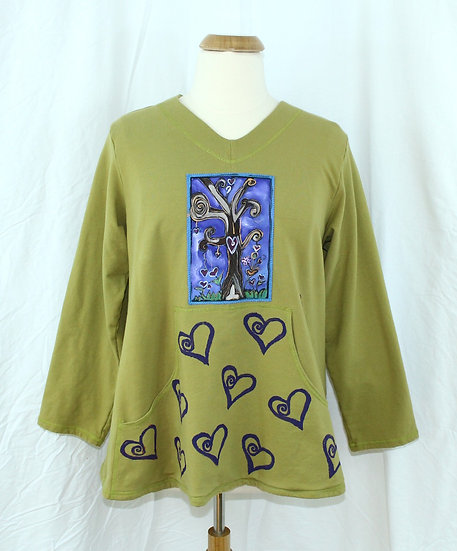 Tree of  Hearts - Blooming Sweatshirt