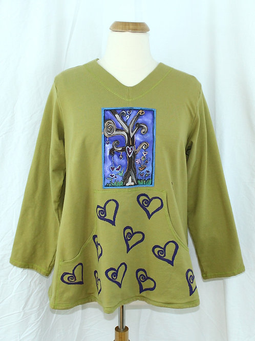 Tree of  Hearts - Blooming Sweatshirt
