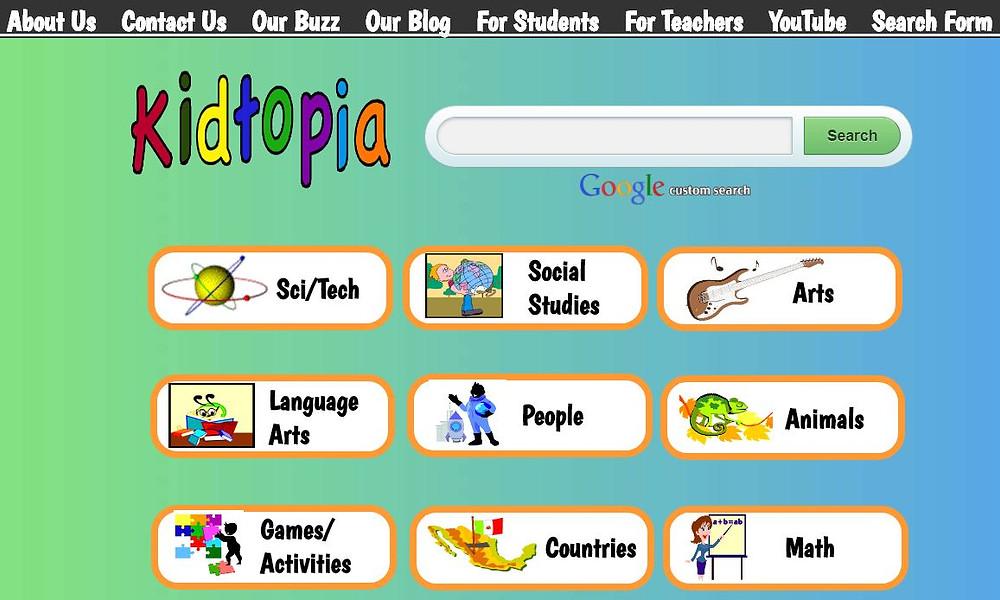 kidtopia متصفح امن