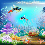 Underwater illustrator file free download