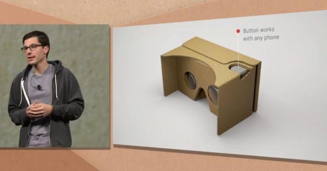 نظارات غووغل الكرتونية الجديدة للآيفون واي او اس