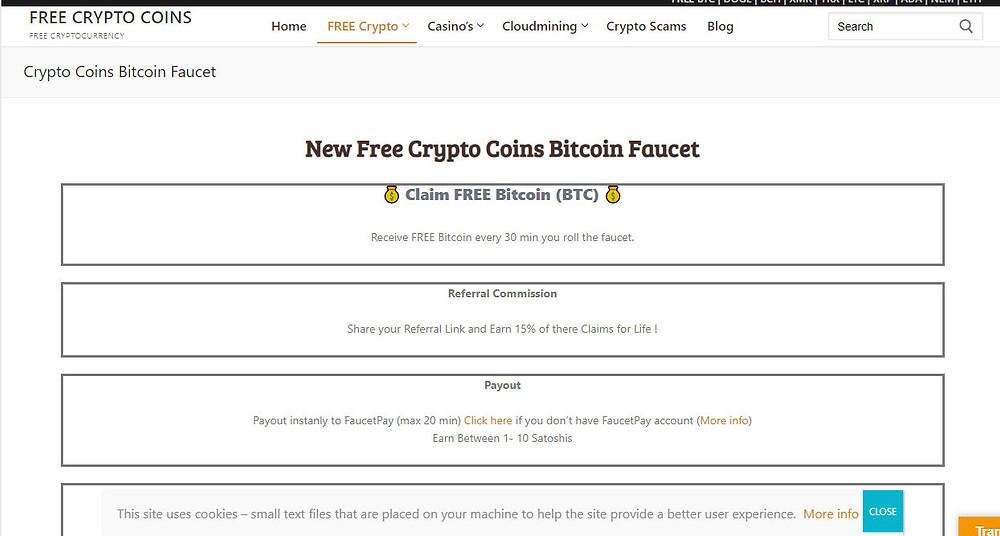 claim free bitcoin btc