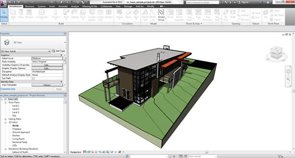 Autodesk revit menu