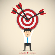Businessman-with-target