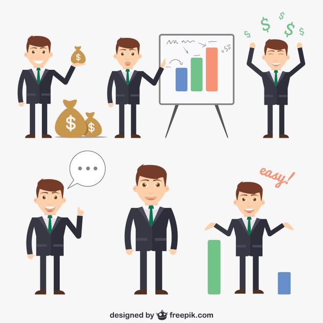 Businessmen-cartoons