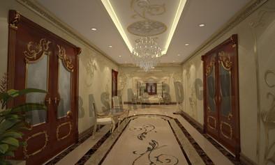 Classic Villa Enterance