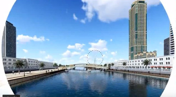 Lumion walk through animation for tower