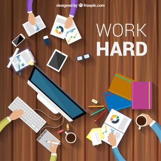 Work-hard-background