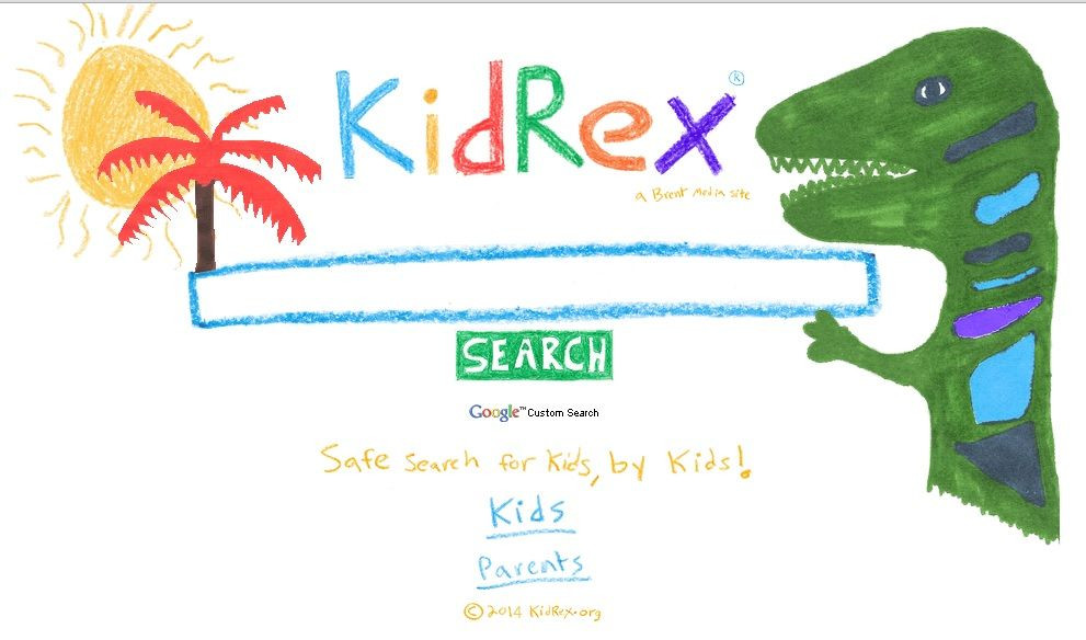 kidrex متصفح امن