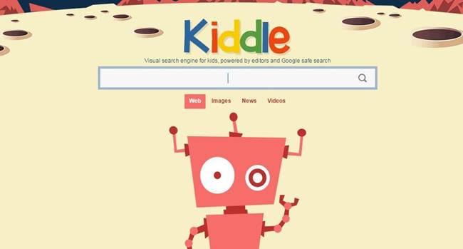 متصفح امن kiddle