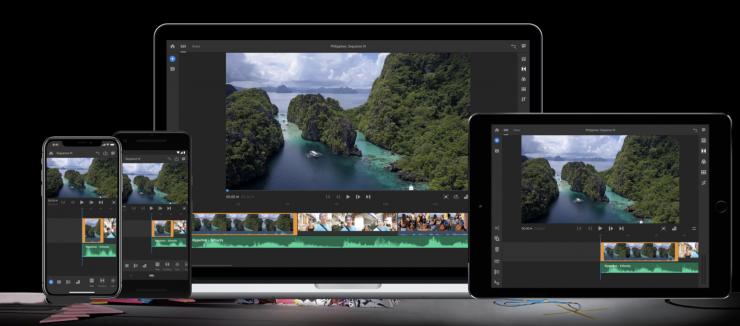 Adobe Premiere Rush مونتاج فيديو