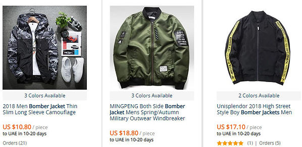 Aliexpress jackets discount promotion