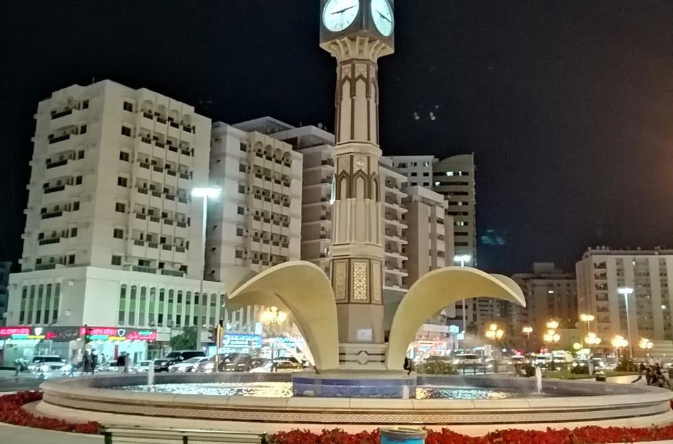 clock tower sharjah uae