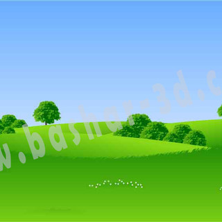 Landscape illustrator file free download