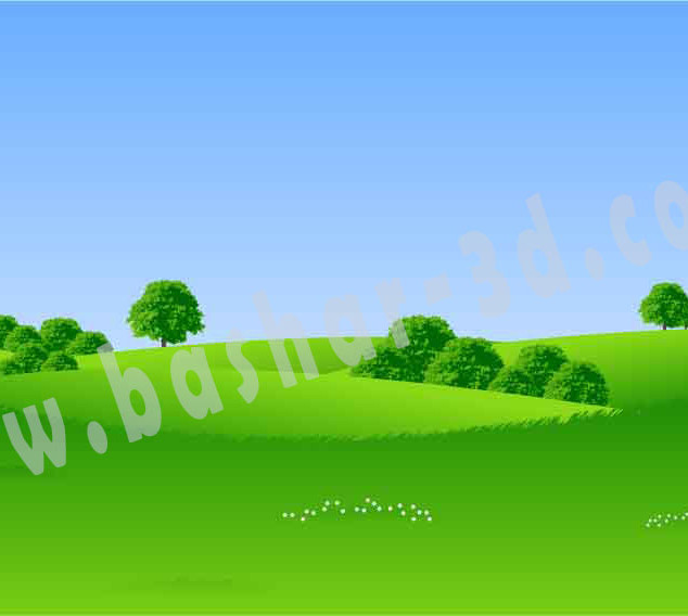 Landscape illustrator file free download