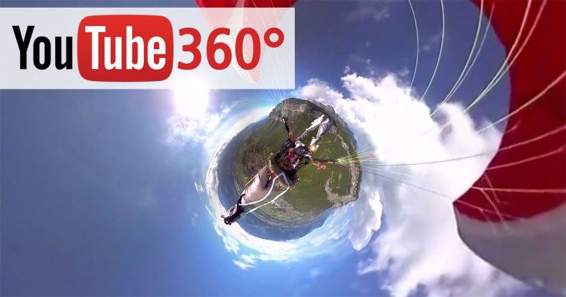 كيفية رفع فيديو 360 درجة على اليوتيوب
