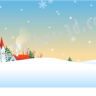 vector art snow free download