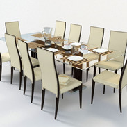 Cattelan italia_Lady chair_Monaco Table.