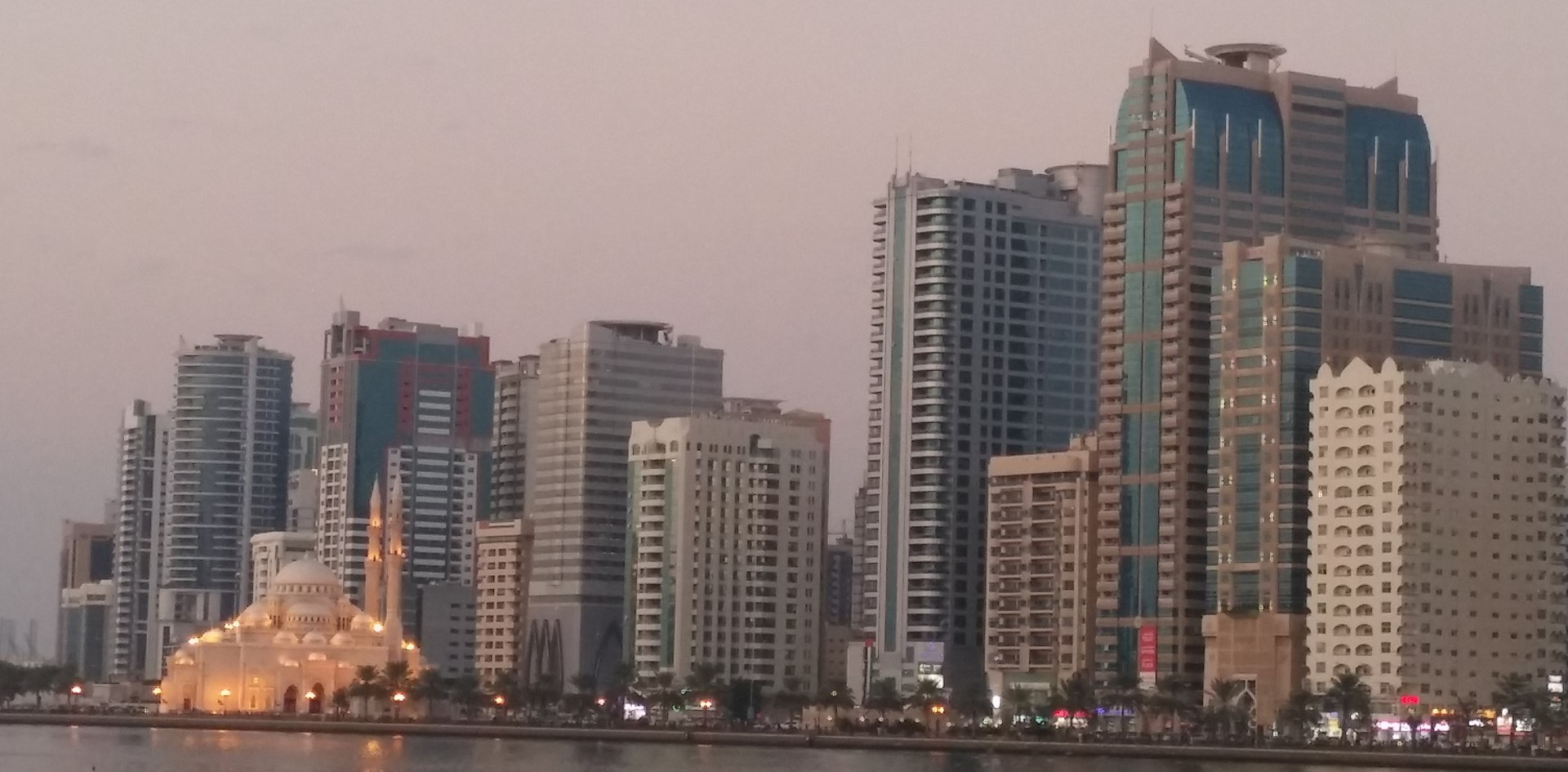 sharjah lake