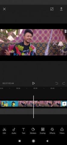 Capcut مونتاج فيديو