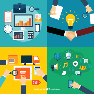 Business-roles-icons