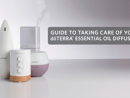 Guide To Taking Care of Your Diffuser