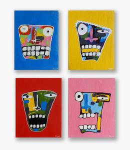 Serie Caras Tristes (Sad Faces Series )