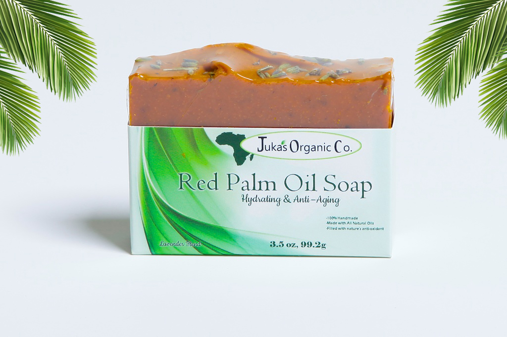 Red Palm Oil Soap, Bye, Bye Aging!