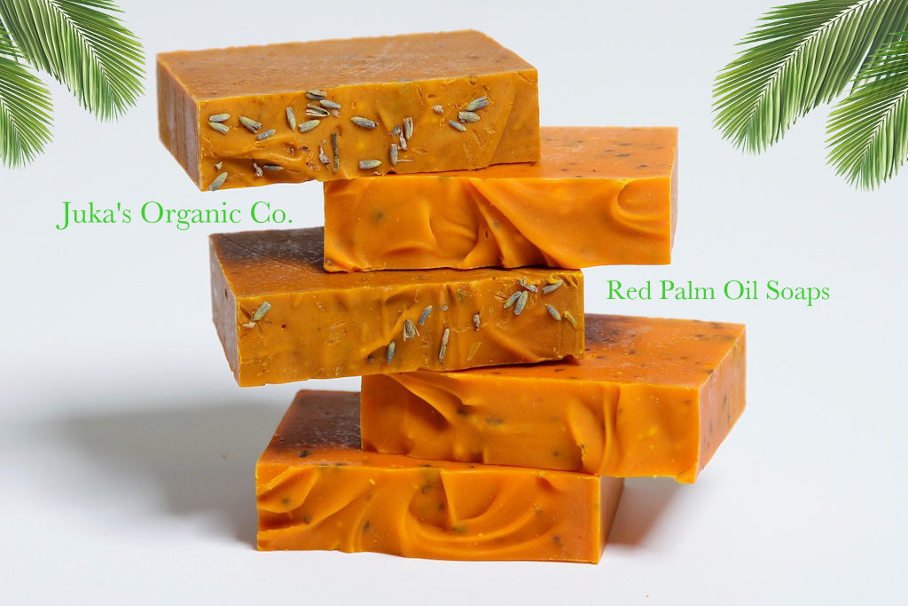 Juka's Organic Red Palm Oil Soap