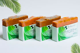 Buy your red palm oil soaps today from us to have great, youthful skin!